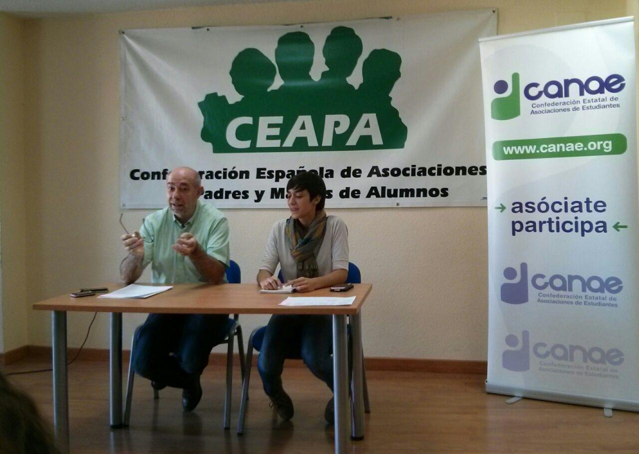 Inauguración del I Encuentro de debate CANAE-CEAPA