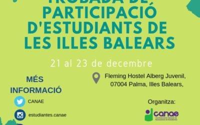 Encuentro de Participación de las Islas Baleares del 21 al 23 de diciembre