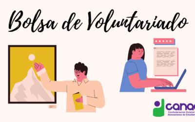 Bolsa de Voluntariado de CANAE