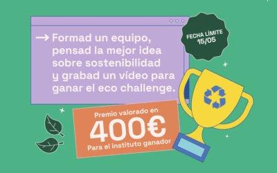 Más iniciativas ecológicas en los institutos, así es el EcoChallenge lanzado por CANAE